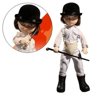 Figura Living Dead Dolls - A Clockwork Orange (Alex Delarge)