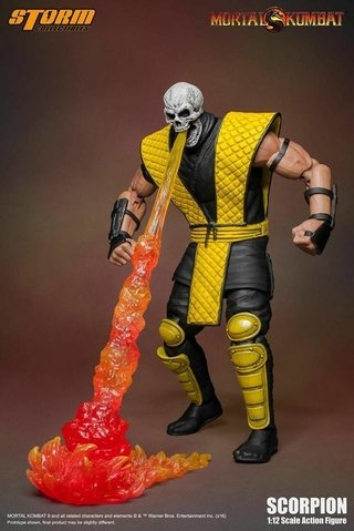 Figura Scorpion Mortal Kombat - Storm Collectibles