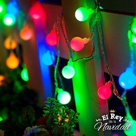 Guirnalda Mini Kermesse Led Multicolor 5mts