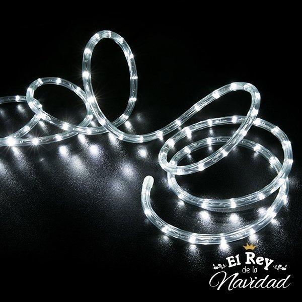2fabd4785de Manguera Luz Led Blanca 10mts - El Rey de la Navidad