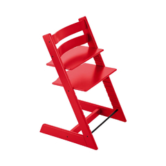 Stokke Tripp Trapp Silla Comer Bebe Regulable Red