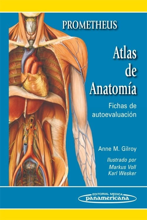 PROMETHEUS. ATLAS DE ANATOMÍA. FICHAS DE AUTOEVALUACIÓN
