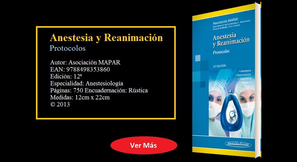 Mensa - ANESTESIA Y REANIMACIÓN - PROTOCOLOS - ISBN: 9788498353860
