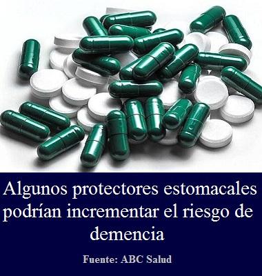 Algunos protectores estomacales podrían incrementar el riesgo de demencia - Farmacologia