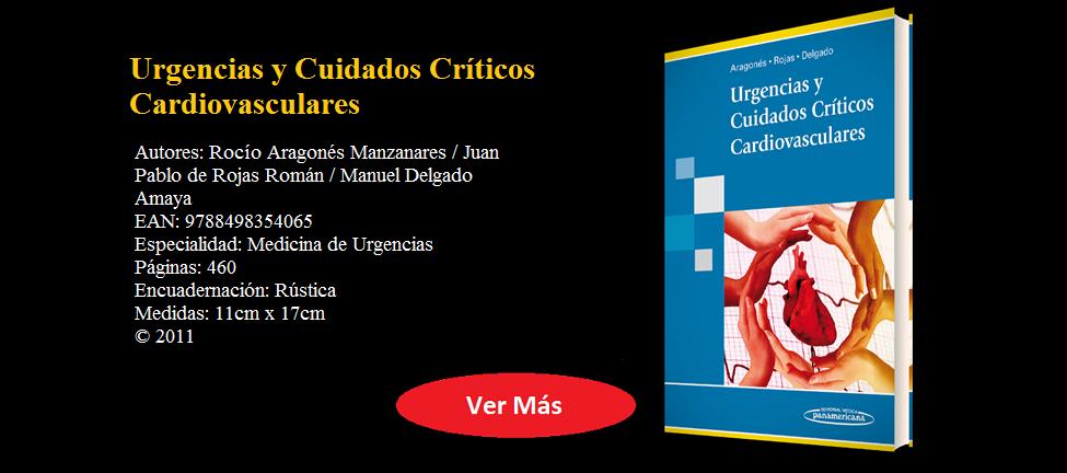 URGENCIAS Y CUIDADOS CRÍTICOS CARDIOVASCULARES - ARAGONÉS -  9788498354065