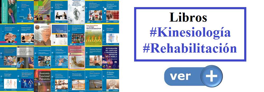 Libros Kinesiologia Rehabilitacion en AZ-Medica