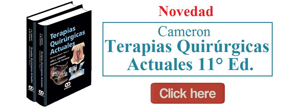 Terapias Quirúrgicas Actuales 11° Ed. 2 Vol - Cameron - 978-958-59113-5-2 -