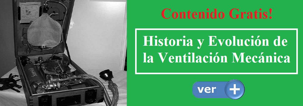 Historia y Evolución de la Ventilación Mecánica