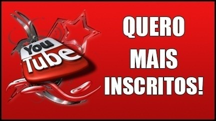 INSCRITOS no Youtube
