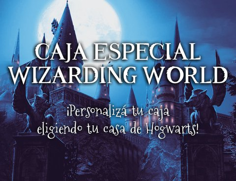 Caja Especial Wizarding World