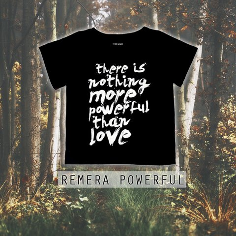 Remera Powerful - comprar online