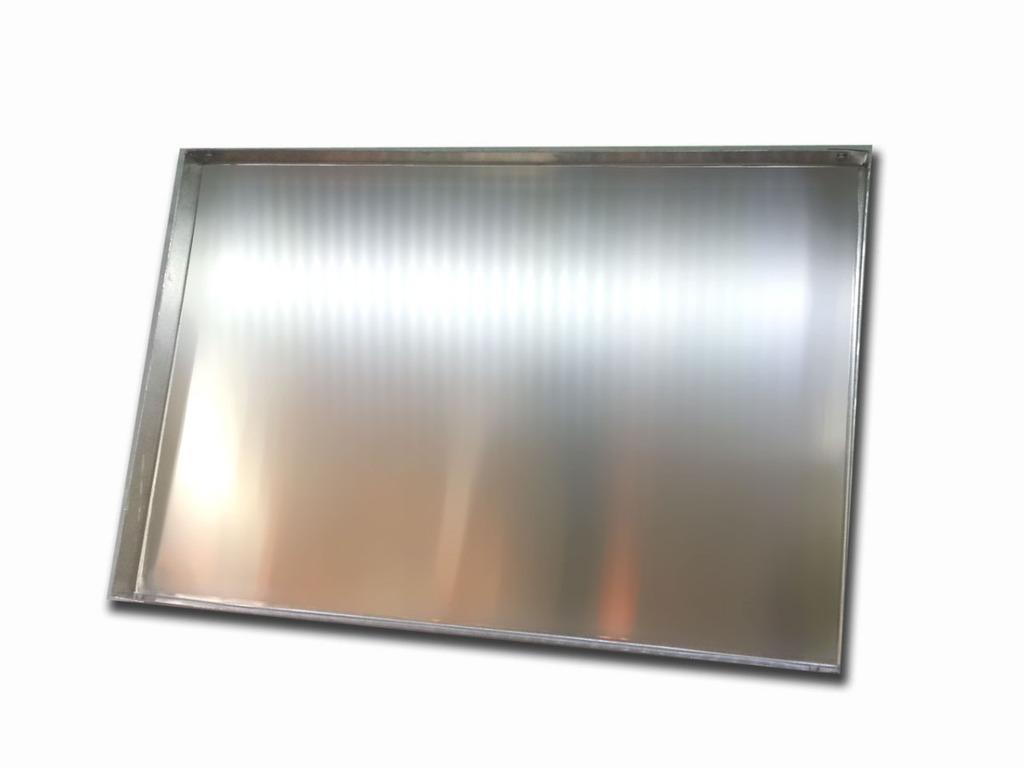 Placa bandeja aluminio remachada 29x46 - Placa de aluminio ...
