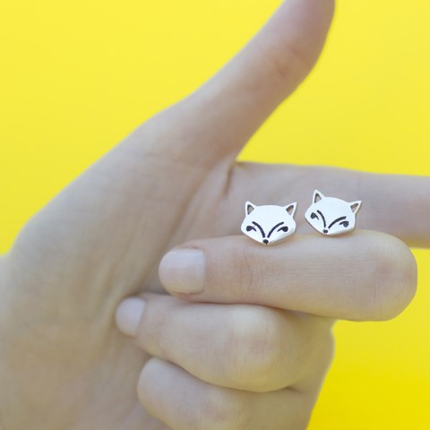 Fox Earrings - buy online