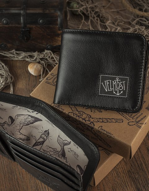 Captain Jack wallet (black)