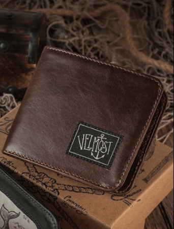 Captain Jack Wallet Brown