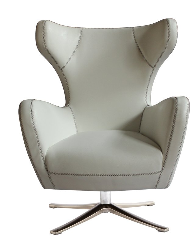 Sillon Jacobsen Retro Blanco Comprar En Integral Deco