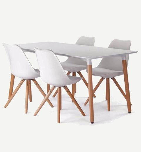 Comprar juego de comedor en integral deco filtrado por for Comedor 4 sillas lider