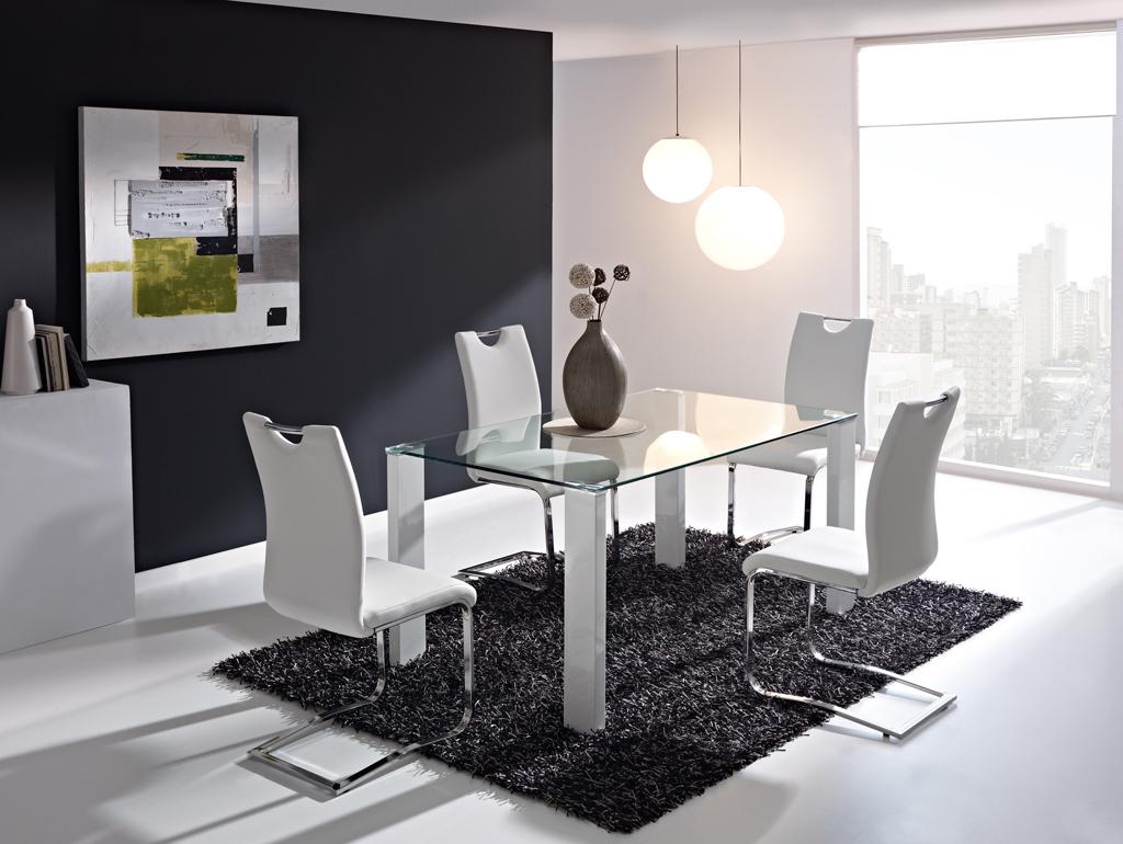 Juego de comedor mesa 1 50x90 4 sillas modelo moncler for Juego de comedor oferta