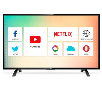 "RCA LED SMART TV 32"" HD  (L32NSMART) - comprar online"