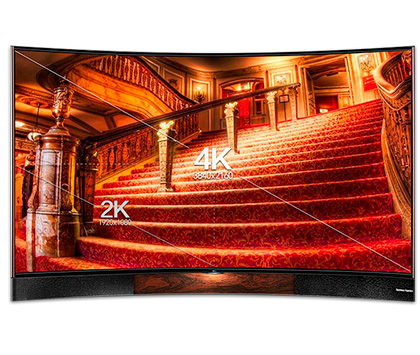 "TCL SMART LED TV 55"" CURVO (H8800) - comprar online"