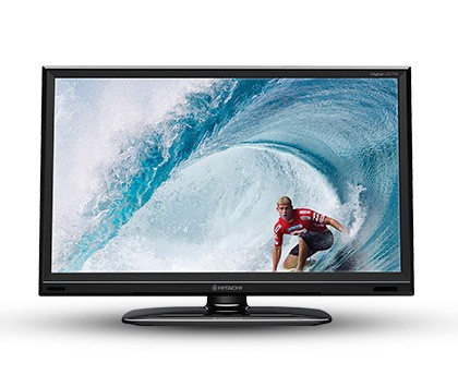 "LED TV 24"" HITACHI (CDH-LE24FD14) - comprar online"