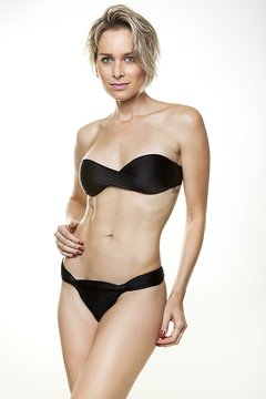 Tomara-que-caia torcido - Preto - Top - NC Fit & Beach