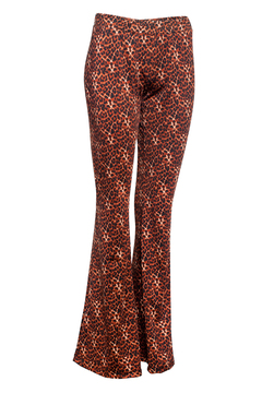 P964 Syes, Calza oxford estampada animal print, Talles Grandes