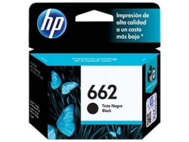 Cart HP negro original  - HP 662