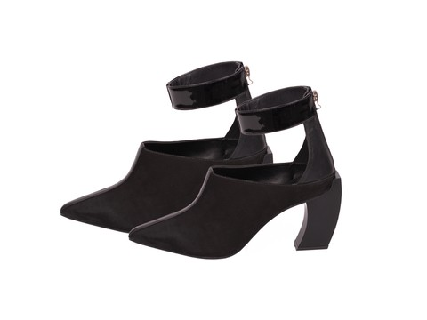 ANKLE BOOT BICOLOR