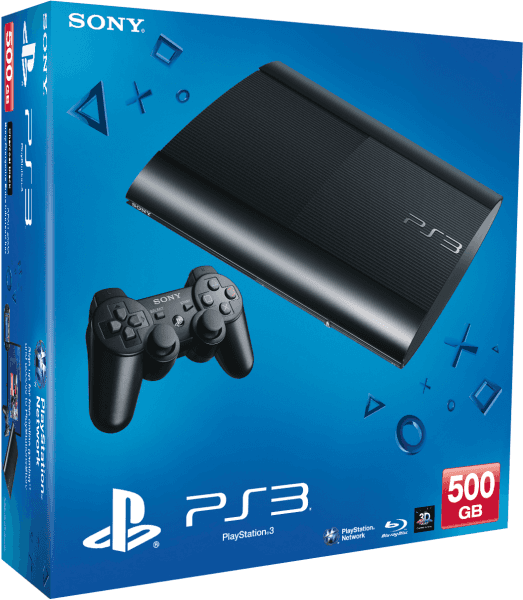Playstation 3 500GB + 4 Juegos Fisicos