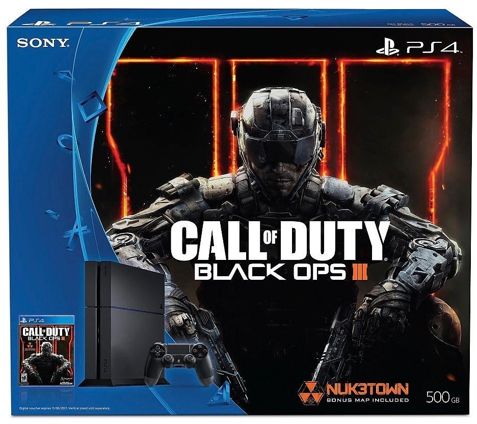 Playstation 4 500GB + Call of Duty Black Ops III (Fisico)