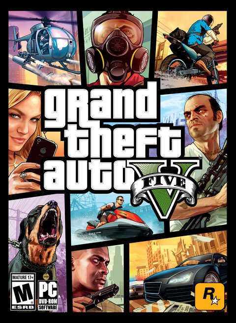 GTA V - Grand Theft Auto V [PC Steam]