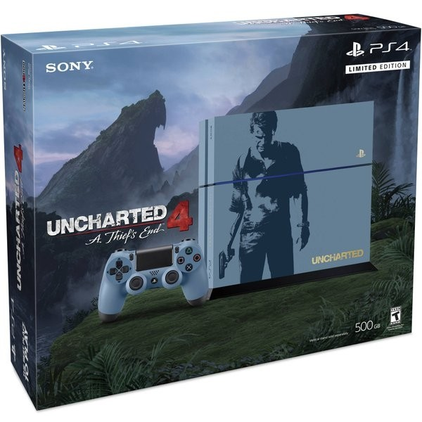 Playstation 4 500GB Uncharted 4 Limited Edition