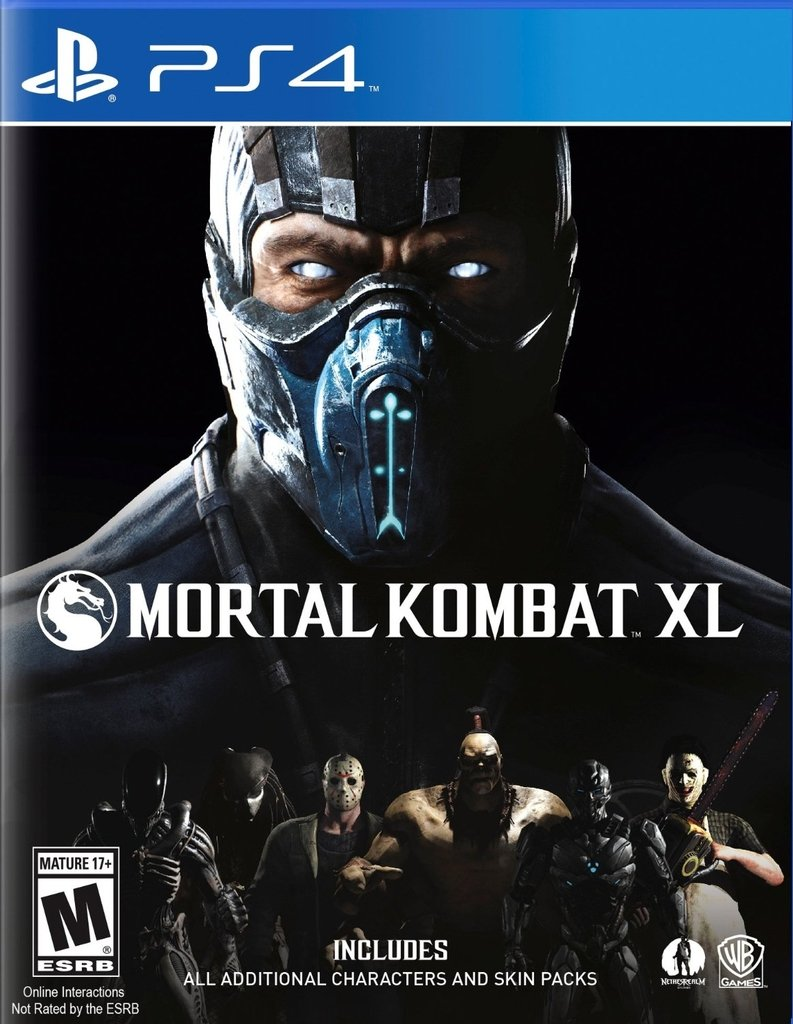 Mortal Kombat XL [PS4 Digital]