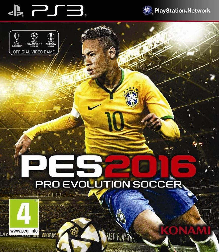 PES 16 - Pro Evolution Soccer 2016 [PS3 Digital]