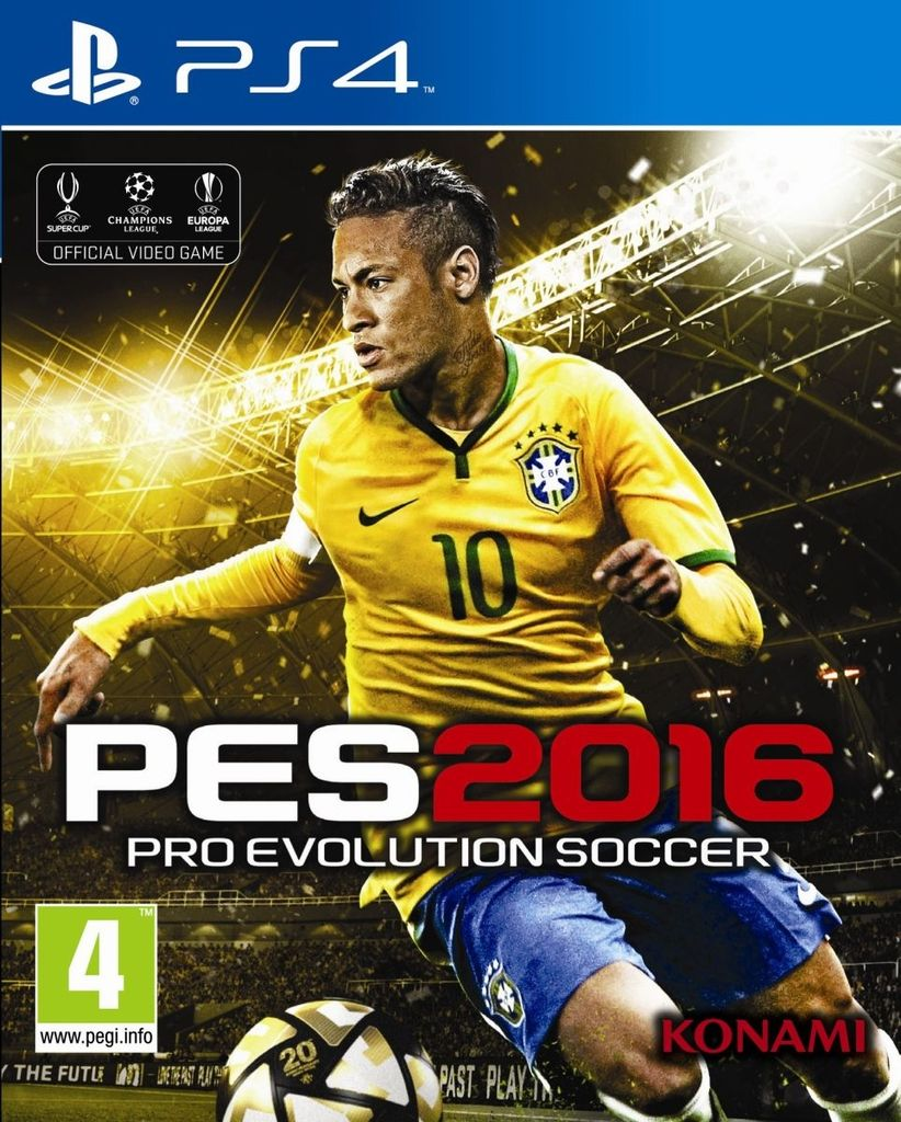 PES 16 - Pro Evolution Soccer 2016 [PS4 Digital]