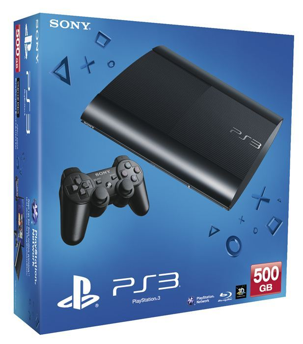 Playstation 3 UltraSlim 500GB + 2 Juegos