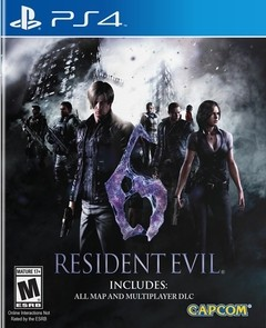 Resident Evil 6 [PS4 Digital]