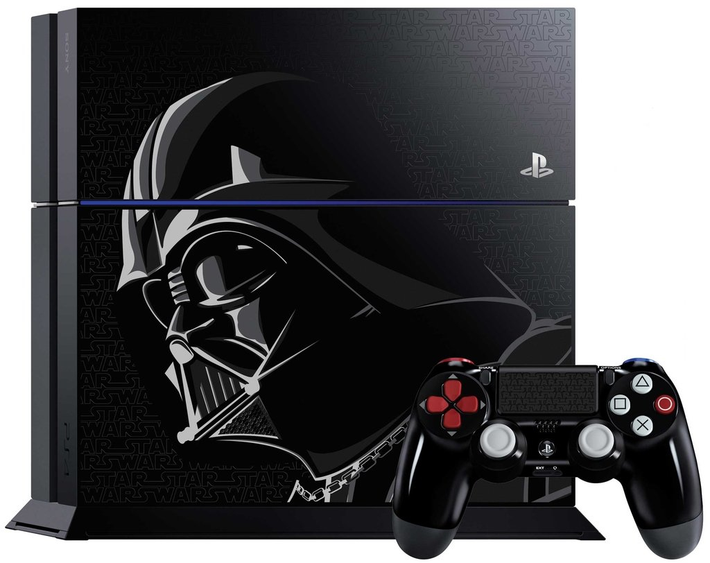 Playstation 4 500GB Star Wars Battlefront Deluxe Edition + 5 juegos