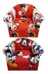 Sillones Infantiles Mickey Minnie Cars Don Zenon Y Mas
