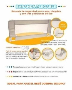 Baranda Cama Cuna Funcional Plegable  Baby Innovation en internet
