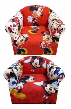 Imagen de Sillon Infantil Disney Minnie/mickey/cars