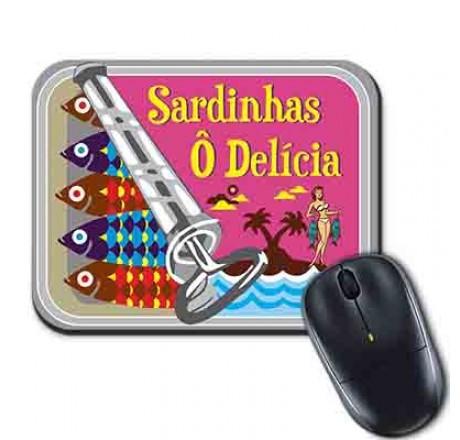 Mouse Pad - Sardinhas Delícia
