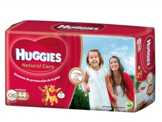 Pañales Huggies Natural Care GREEN XXG Hiperpack - comprar online