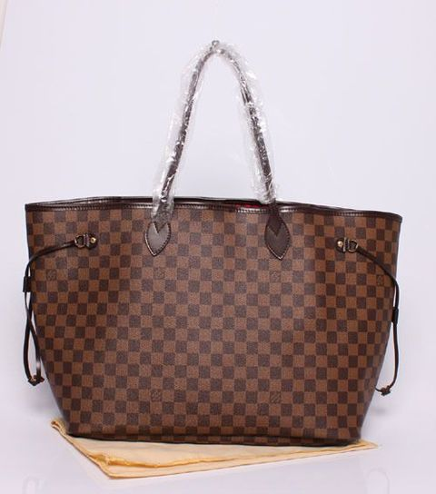 Bolsa louis vuitton neverfull damier Mm
