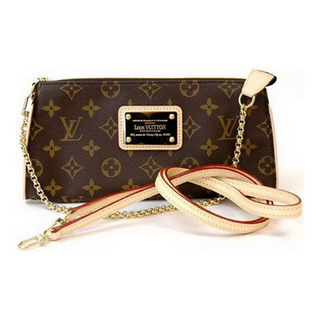Louis vuitton eva clutch monograma couro