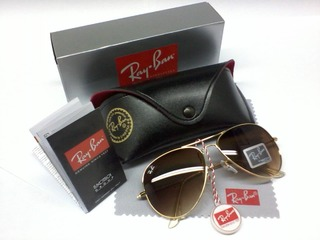 Ray ban marrom degrade