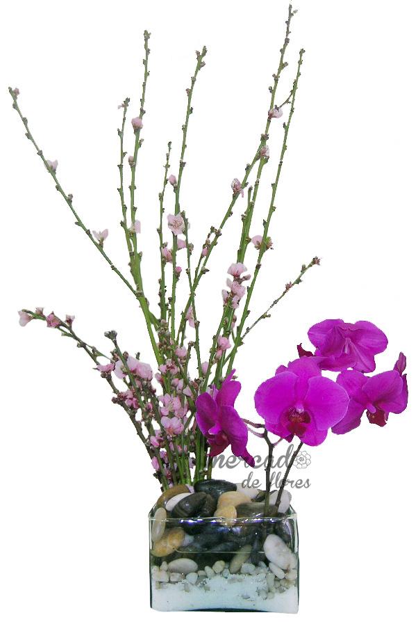 Arreglo de orquídeas Japón