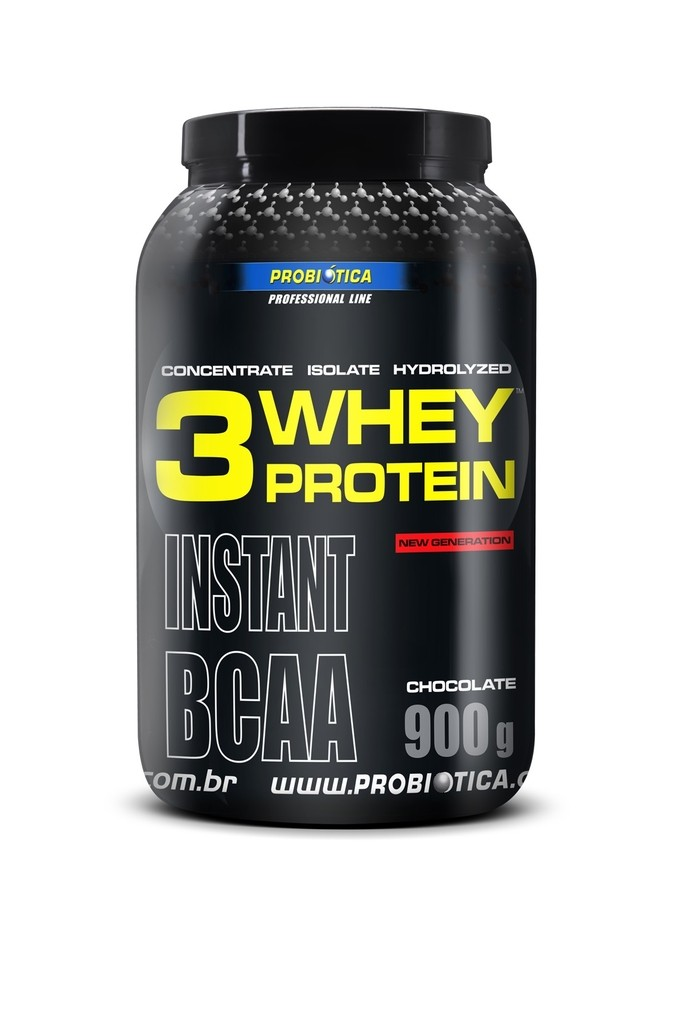 3 Whey Protein Chocolate ( 900g ) - Probiótica
