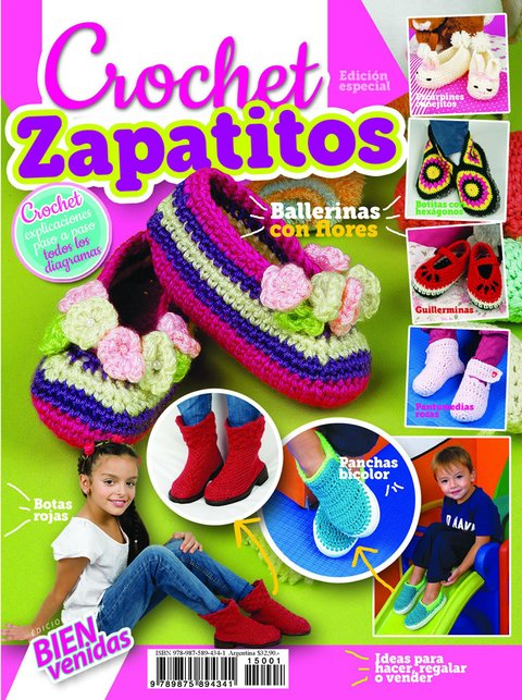 Crochet Zapatitos 2015 Esp.